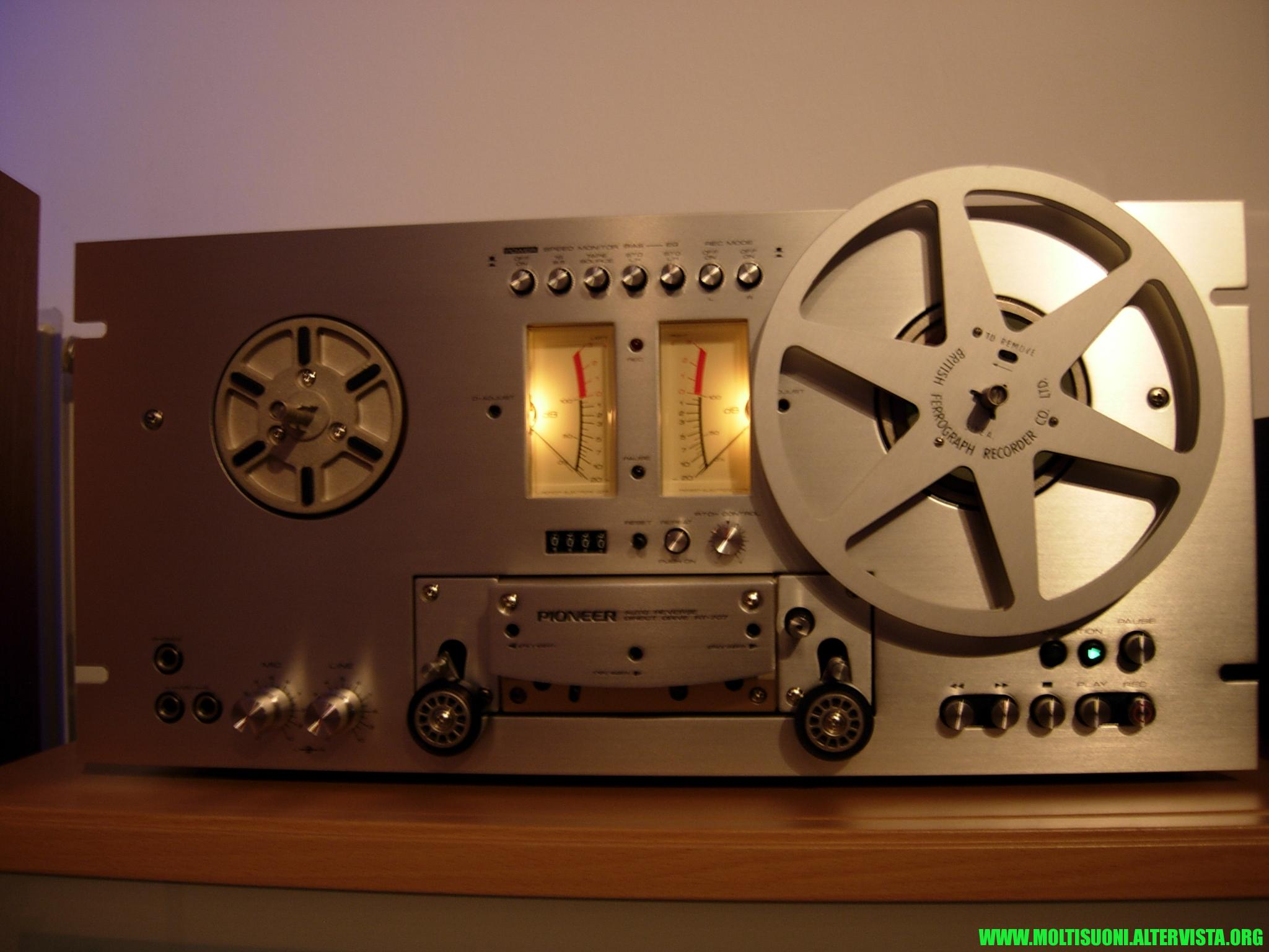 moltisuoni pioneer RT303 reel to reel