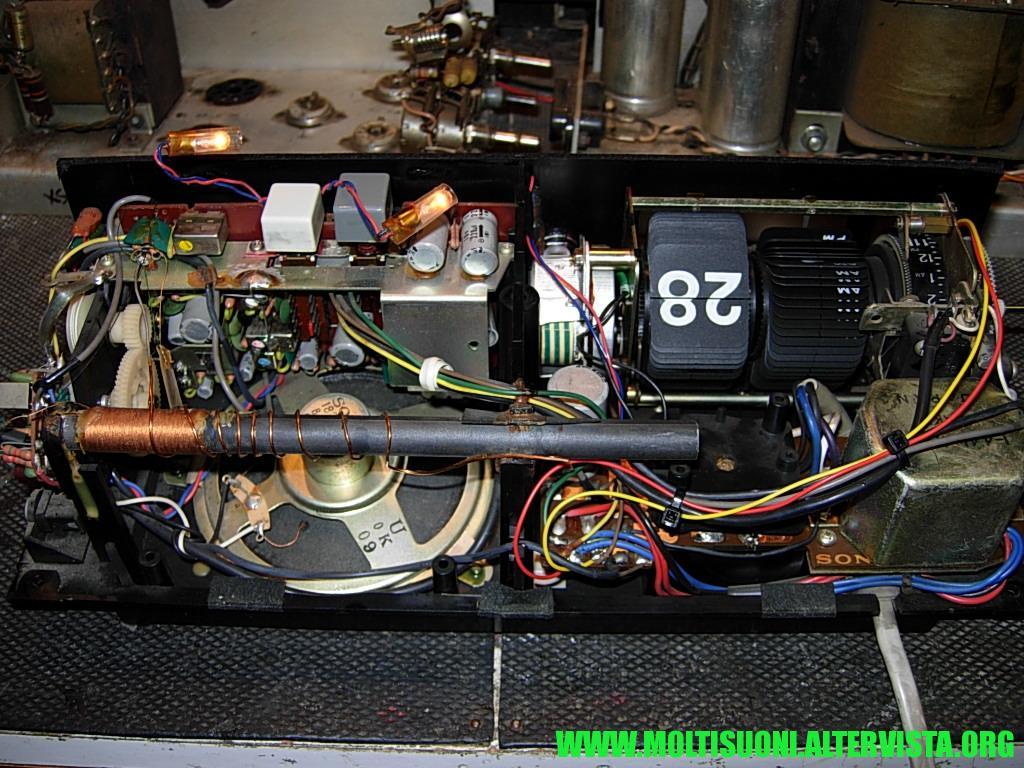 Radiosveglia a cartellini Sony - Moltisuoni 3