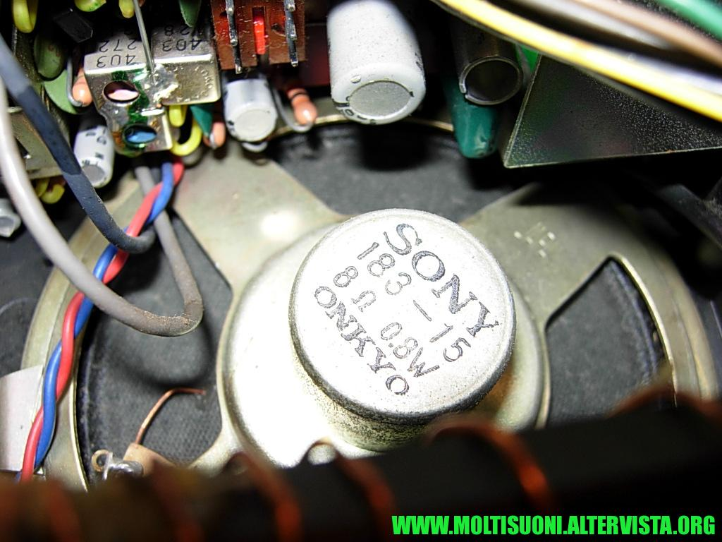 Radiosveglia a cartellini Sony - Moltisuoni 14