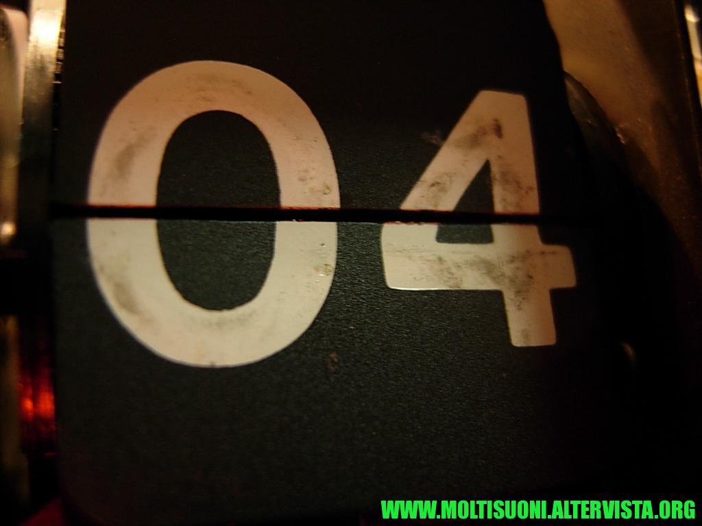 Radiosveglia a cartellini Sony - Moltisuoni 5