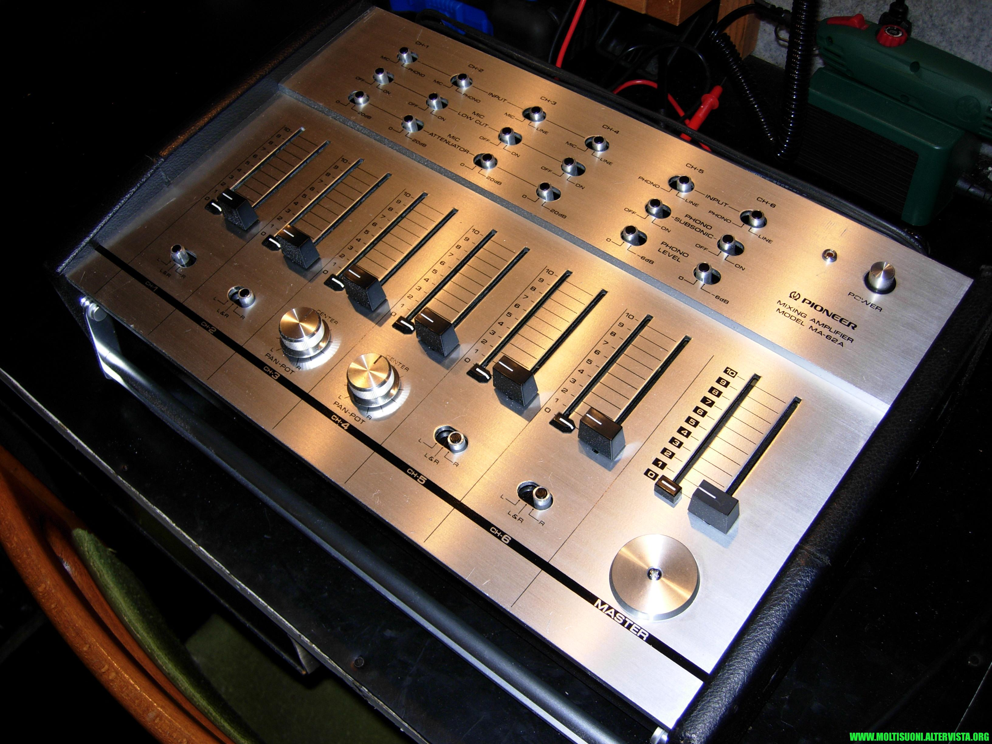 moltisuoni - Pioneer MA 62 2