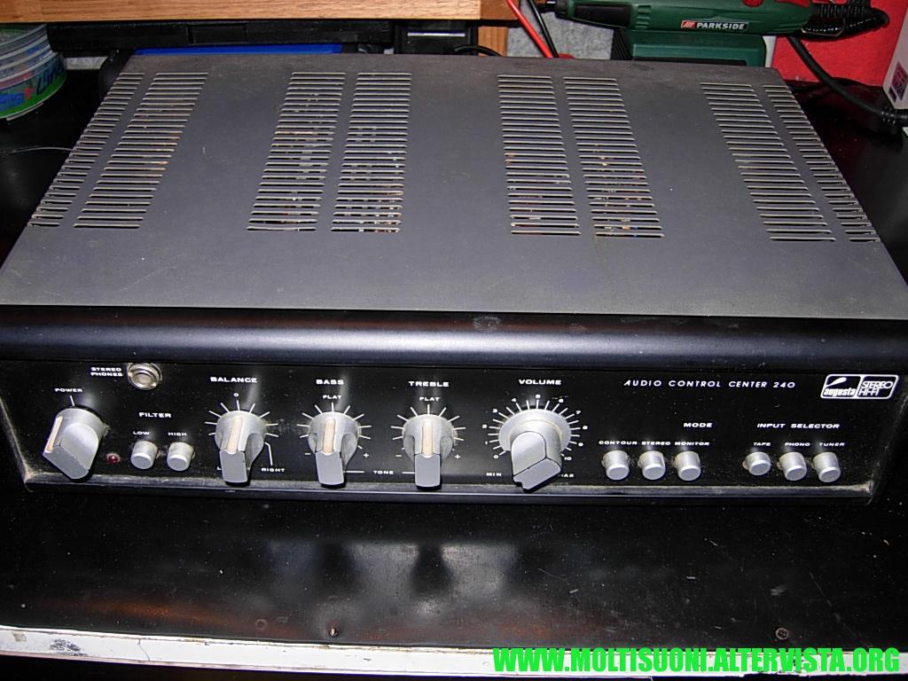 Moltisuoni - Augusta Audio Control Center 240 -- 1