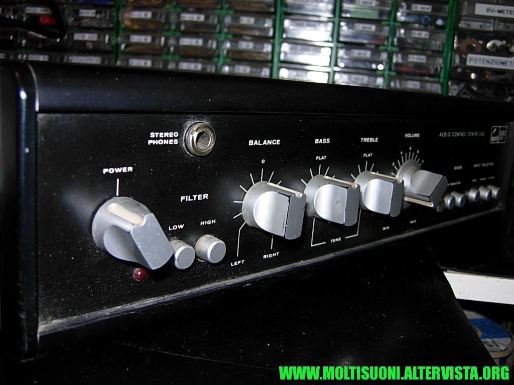 Moltisuoni - Augusta Audio Control Center 240 -- 2