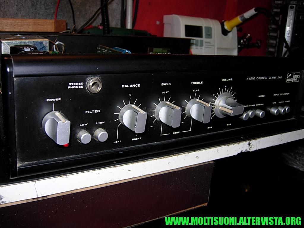 Moltisuoni - Augusta Audio Control Center 240 -- 90