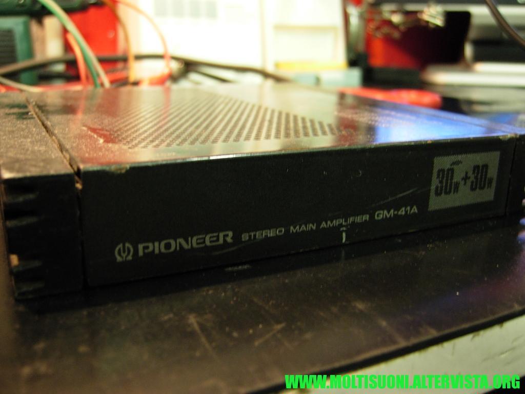 Pioneer GM 41 A - Moltisuoni