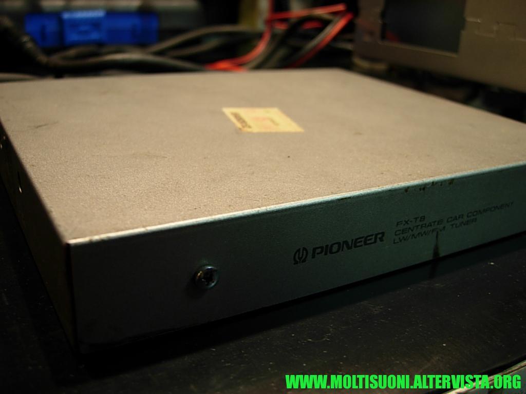 Pioneer FX-T8 tuner - Moltisuoni
