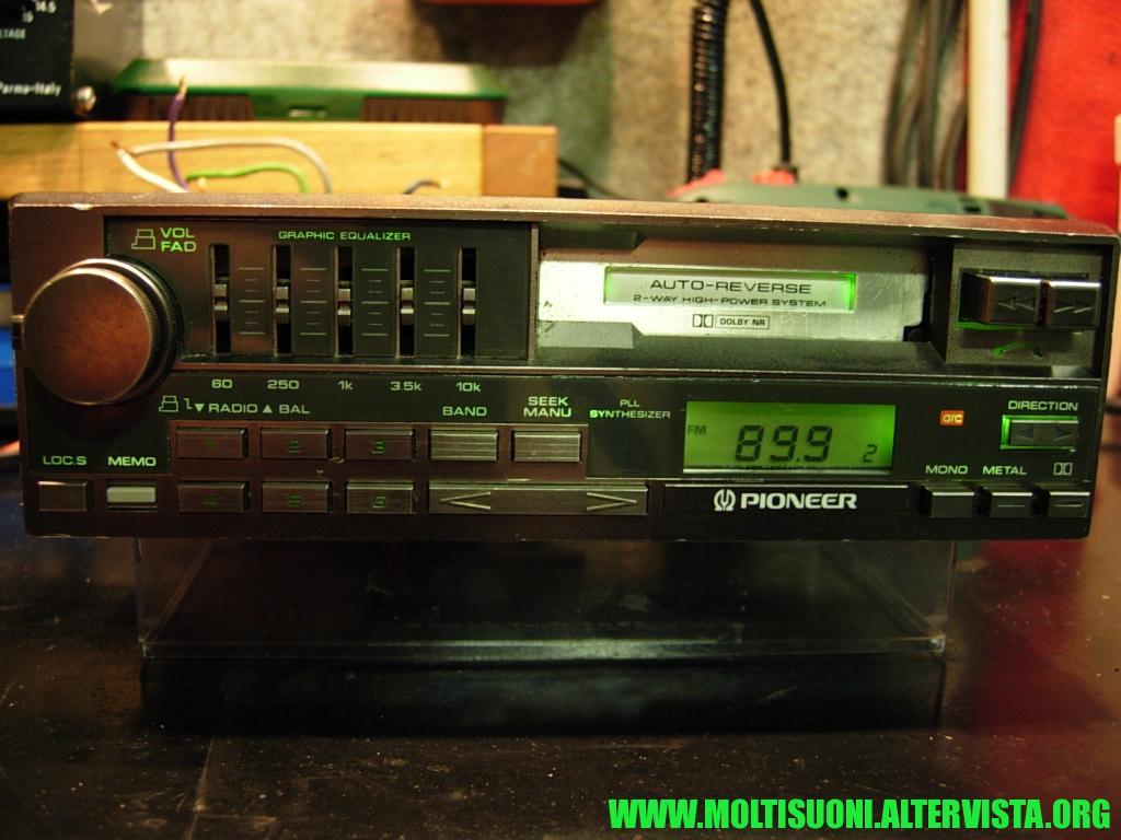 Pioneer Keh 9300 - Moltisuoni