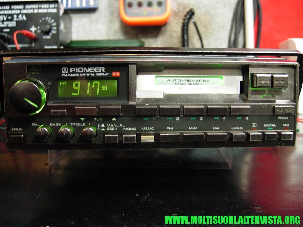 Pioneer Keh 8300 - Moltisuoni