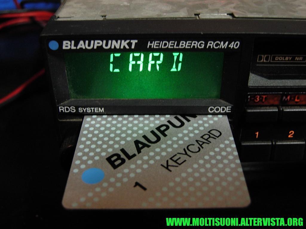 Blaupunkt Heidelberg RCM 40 - moltisuoni 3