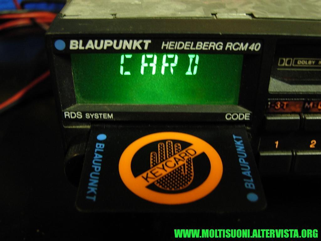 Blaupunkt Heidelberg RCM 40 - moltisuoni 2