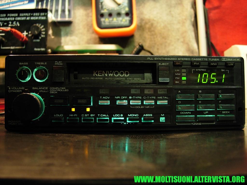 Kenwood KRC 929 D - Moltisuoni 1