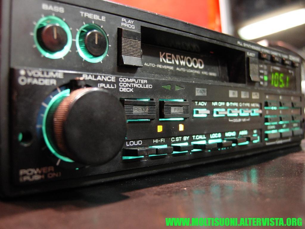 Kenwood KRC 929 D - Moltisuoni 2