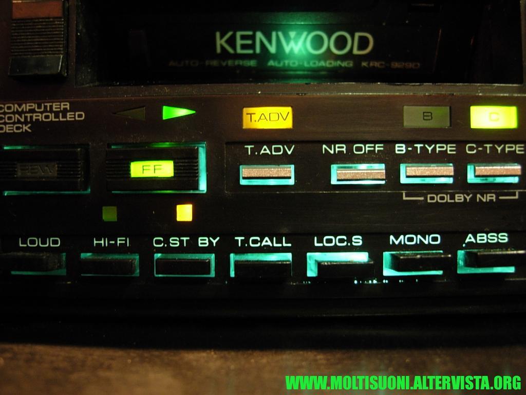Kenwood KRC 929 D - Moltisuoni 3