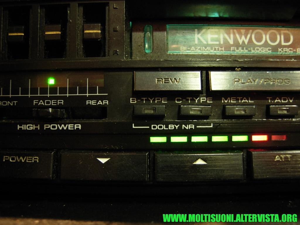 kenwood KRC 838 - Moltisuoni 2