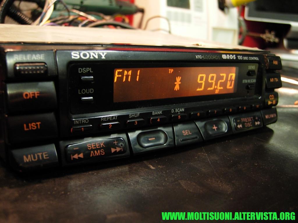 Sony XTC-U200 RDS - Moltisuoni 4