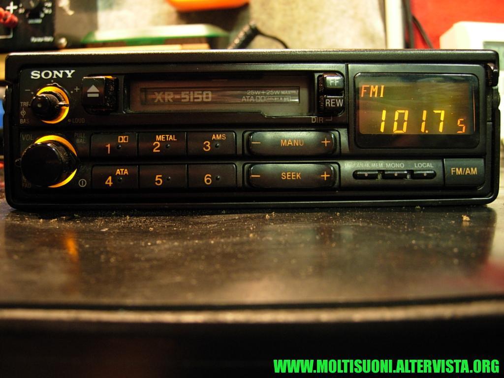 Sony XR 5150 - Moltisuoni