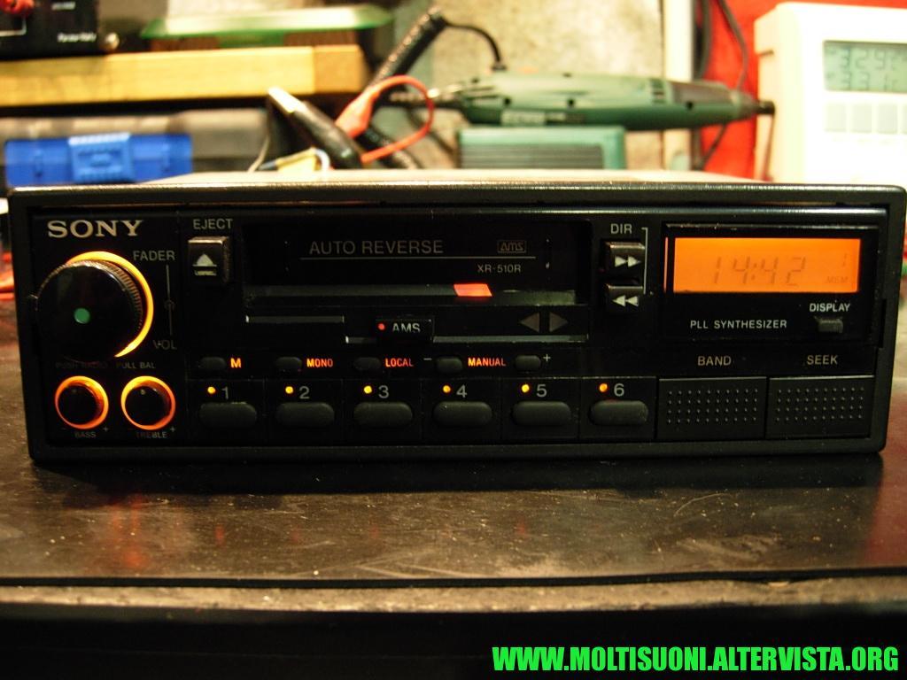 Sony XR 510 R - Moltisuoni 1
