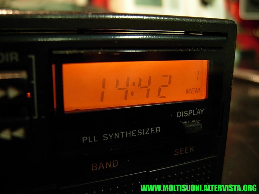 Sony XR 510 R - Moltisuoni 3