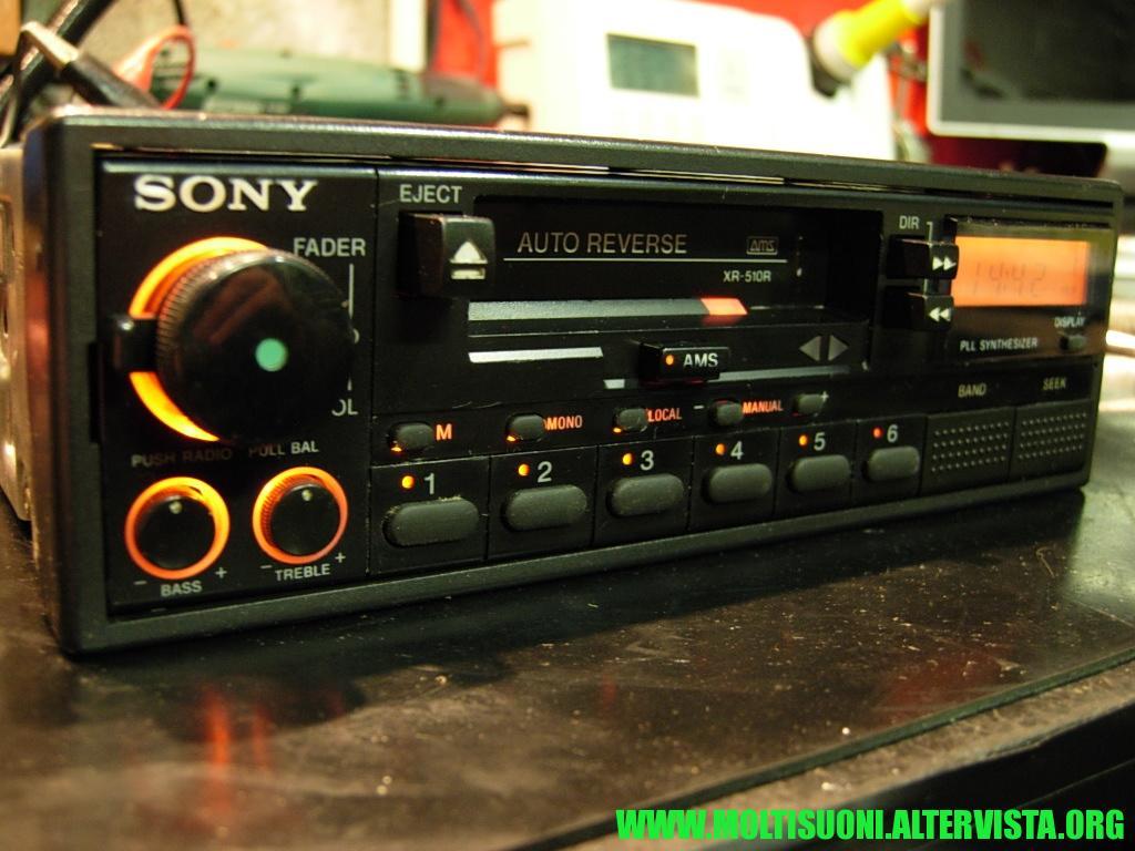 Sony XR 510 R - Moltisuoni 2