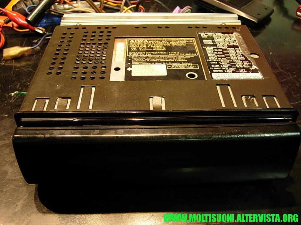 Aiwa CT-Z 8000 - Moltisuoni 1
