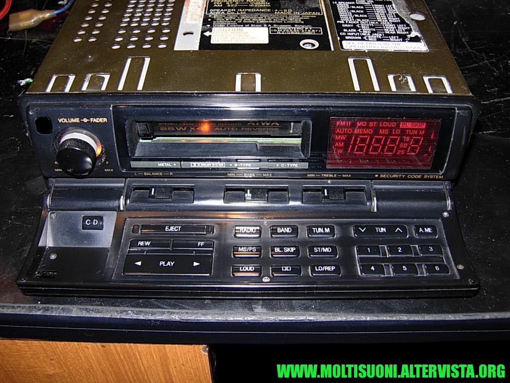 Aiwa CT-Z 8000 - Moltisuoni 2