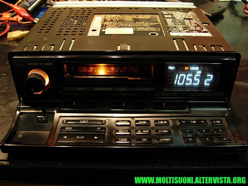 Aiwa CT-Z 8000 - Moltisuoni 3