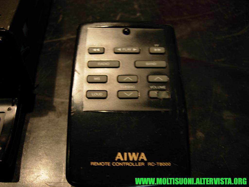 Aiwa CT-Z 8000 - Moltisuoni 7