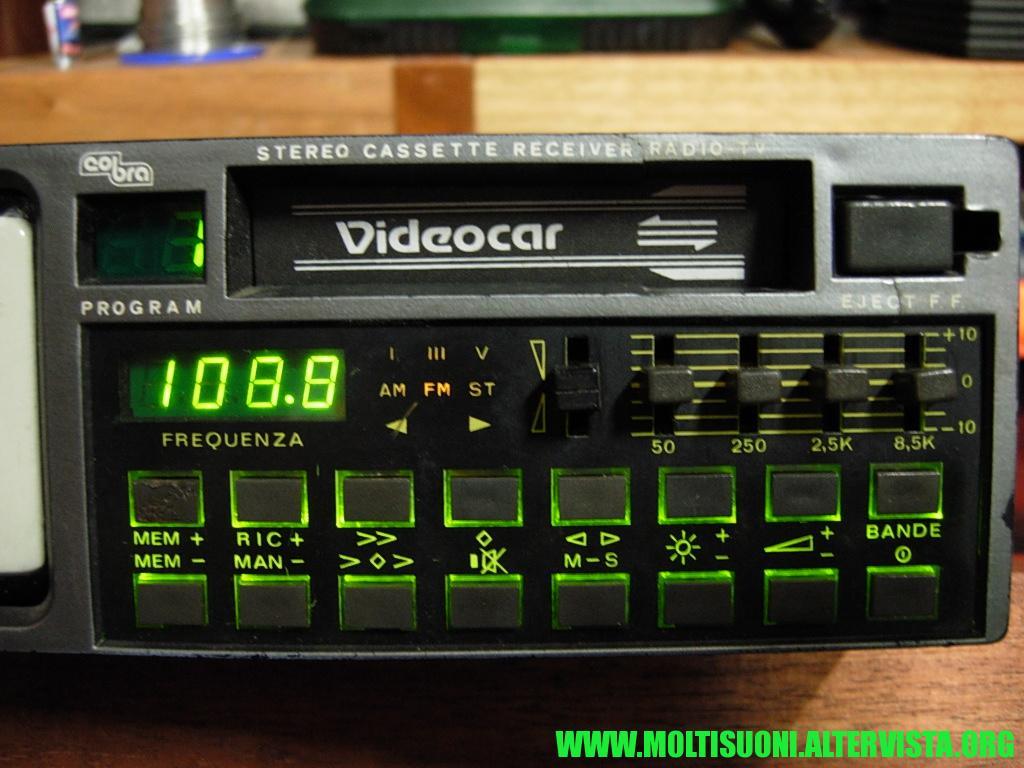 Cobra Videocar - Moltisuoni 2