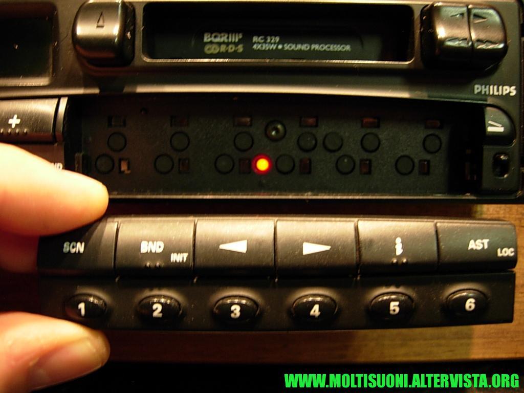 Philips RC329 - Moltisuoni 1