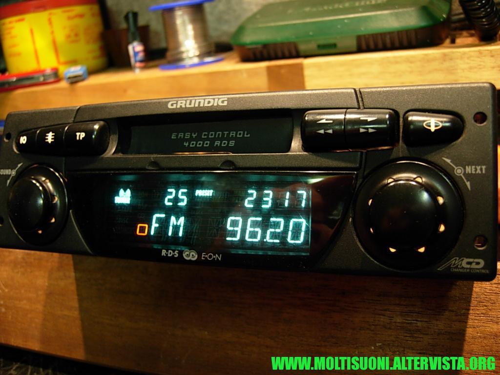 Grundig 4000 RDS - Moltisuoni 3