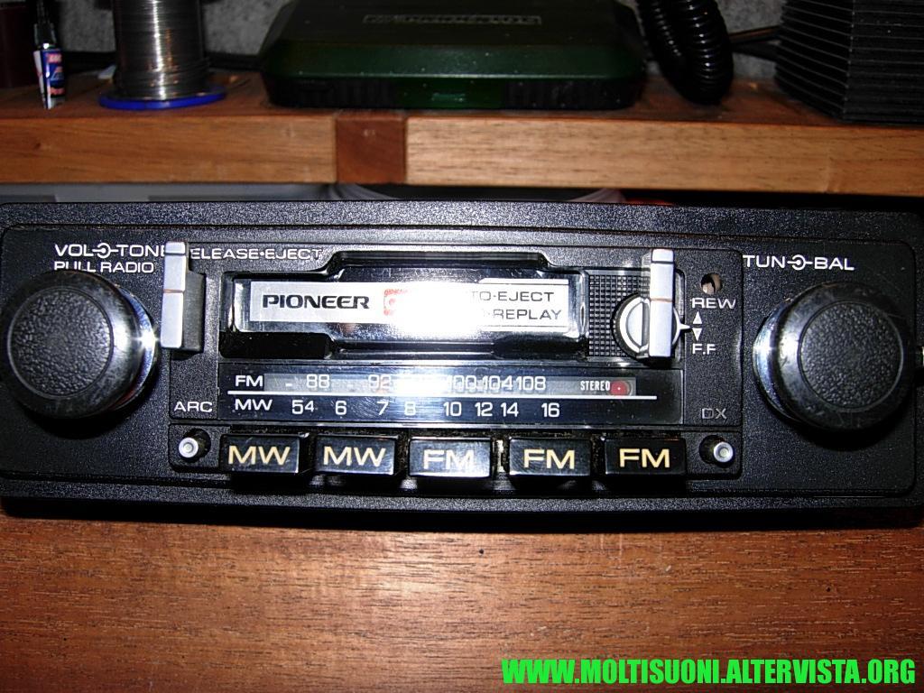 Pioneer KP 8000 - Moltisuoni 6