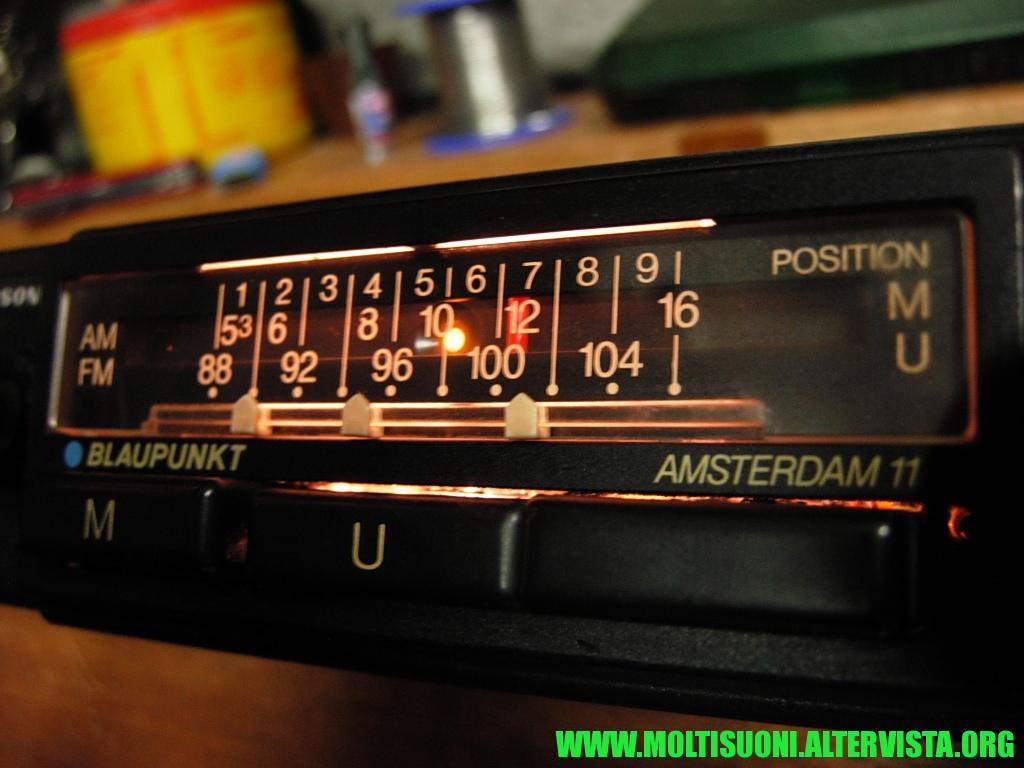 Blaupunkt Amsterdam 11 - moltisuoni 2