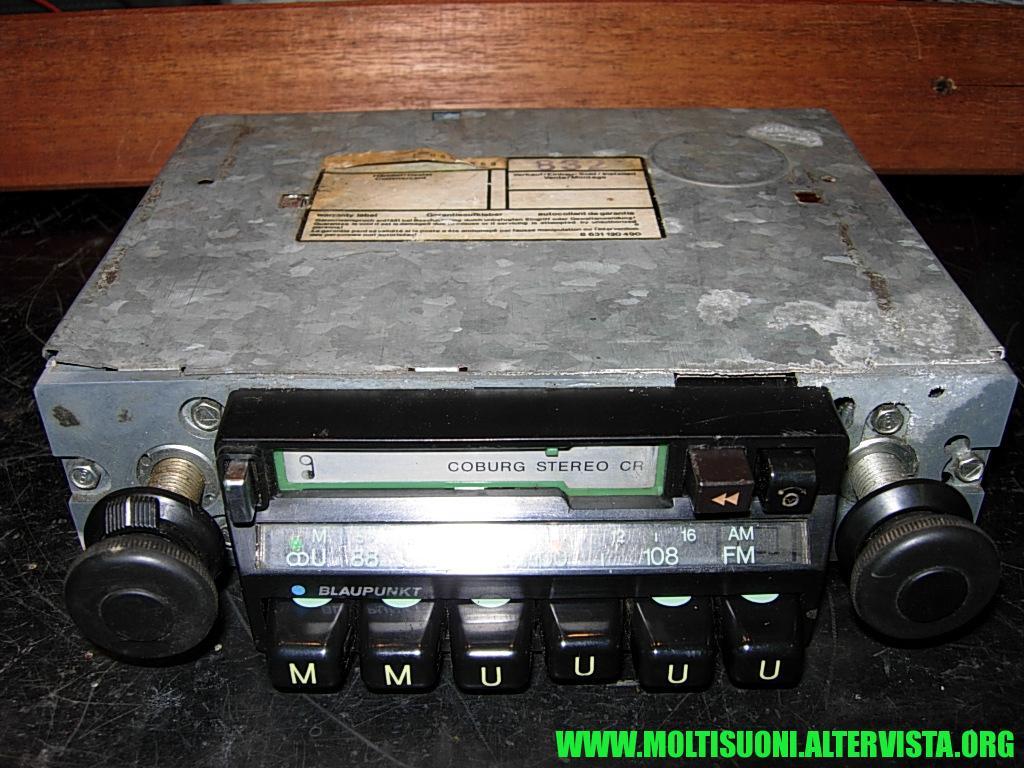 Blaupunkt Coburg Stereo CR - Moltisuoni 1