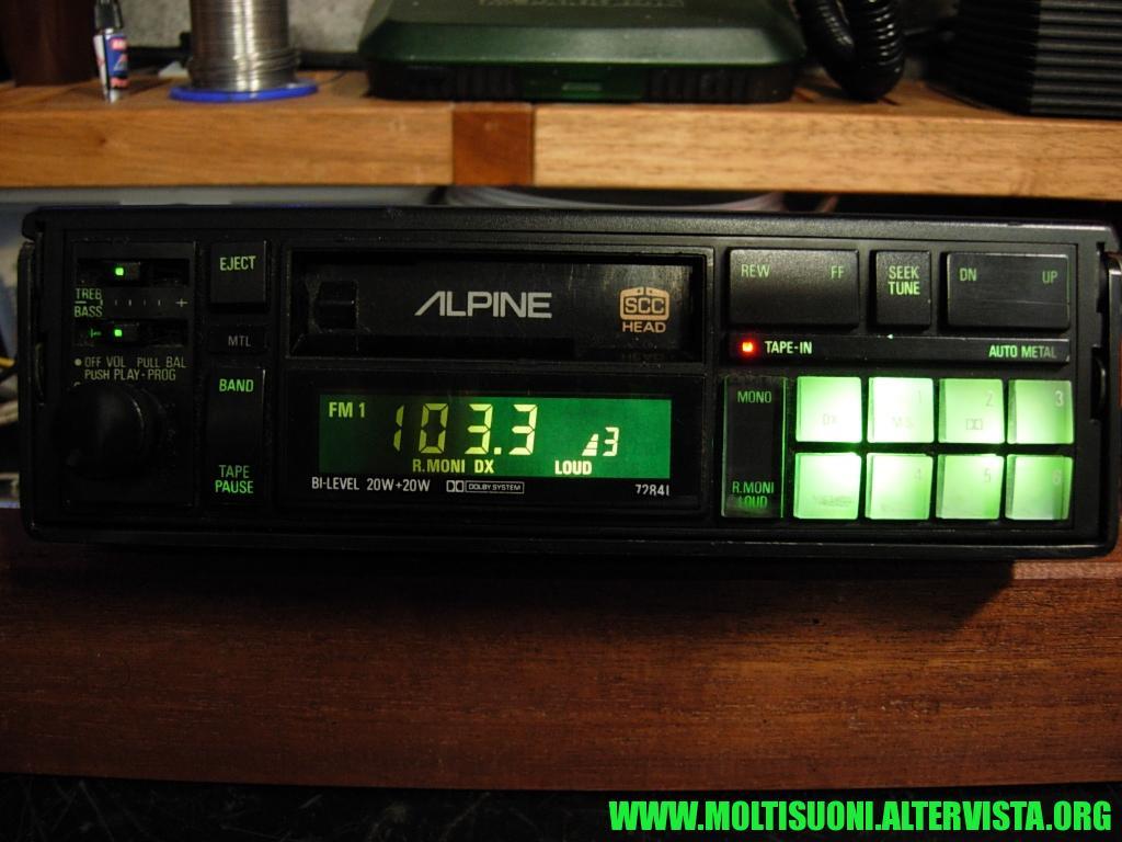 Alpine 7284 I - Moltisuoni 5
