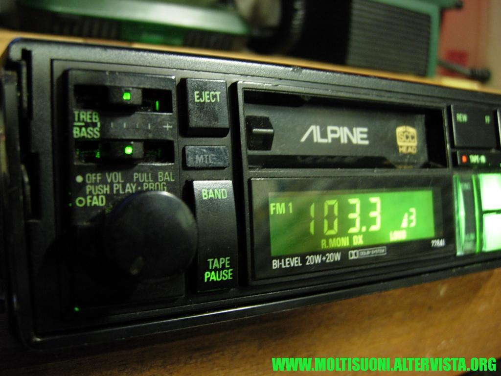 Alpine 7284 I - Moltisuoni 3