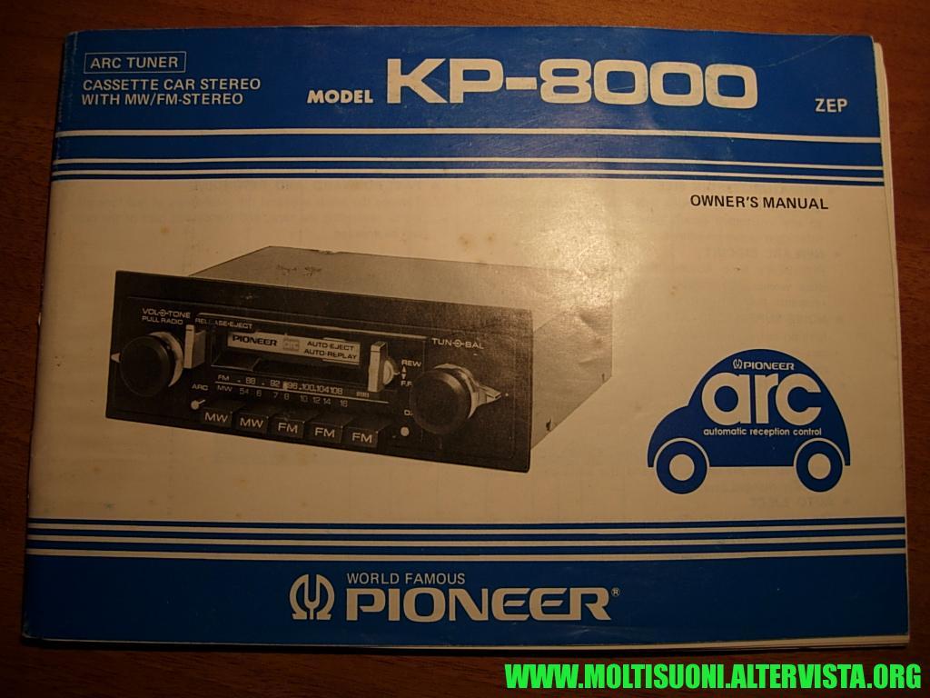 Pioneer KP 8000 - Moltisuoni 1