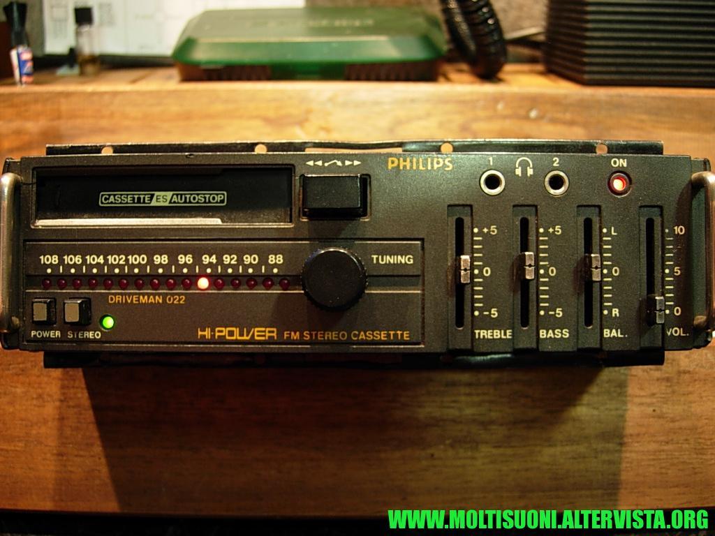 Philips driveman 022 - moltisuoni 1