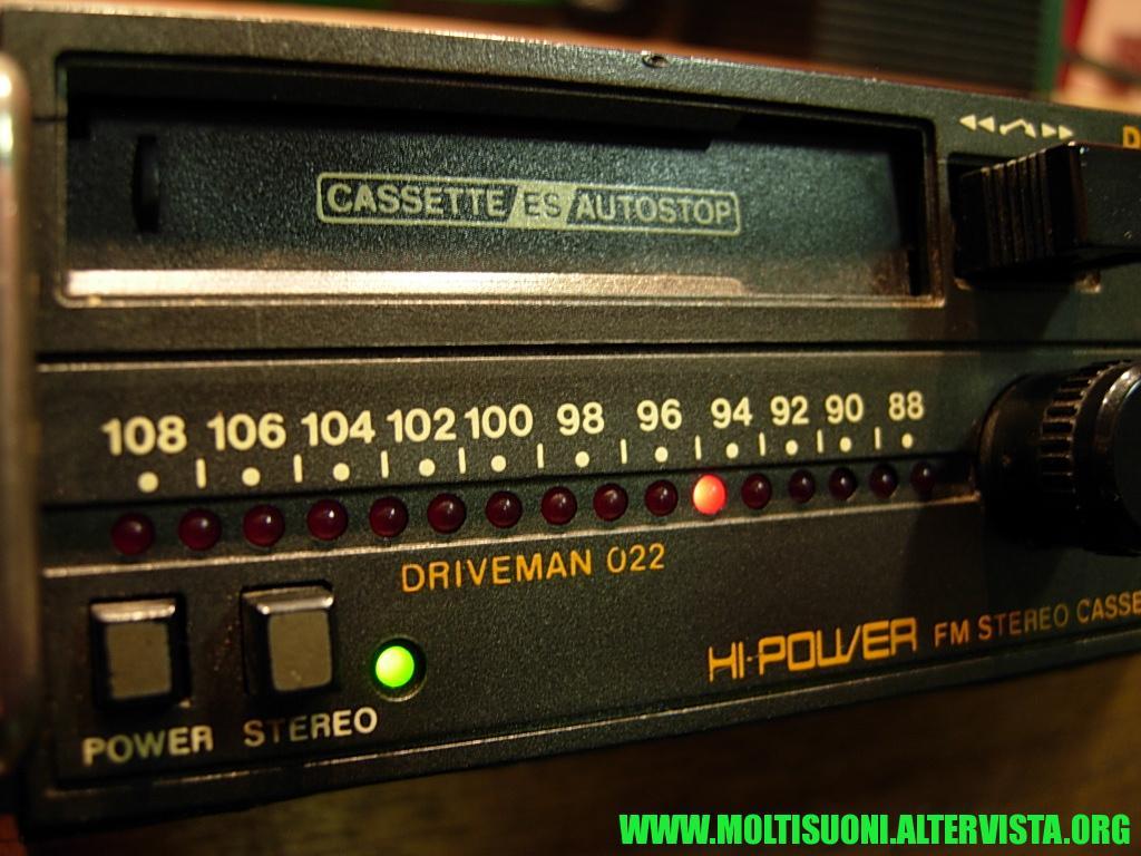 Philips driveman 022 - moltisuoni 2