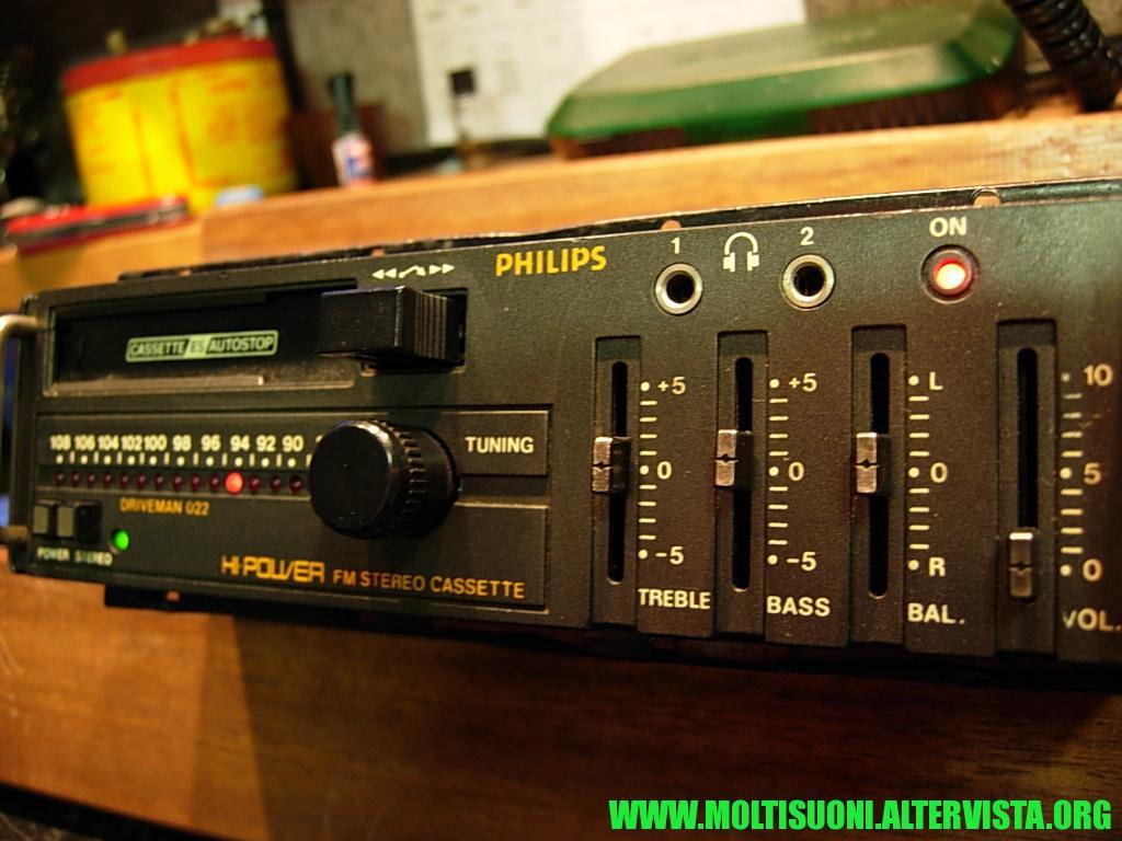 Philips driveman 022 - moltisuoni 3