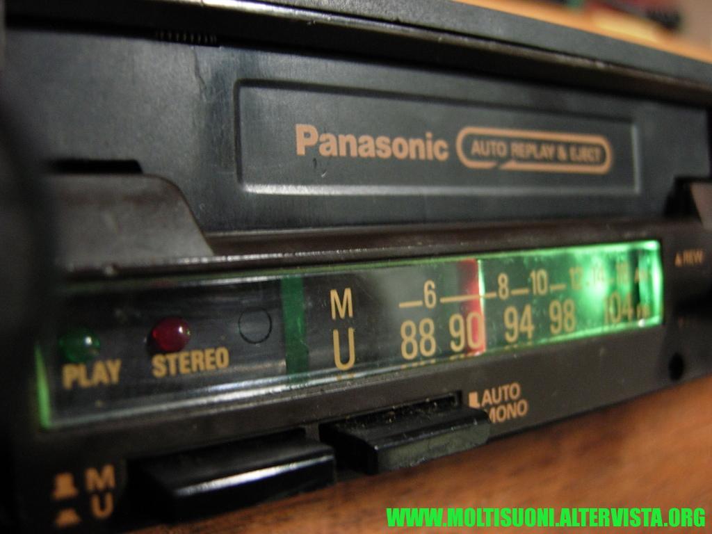 Panasonic CQ 461 - moltisuoni 3