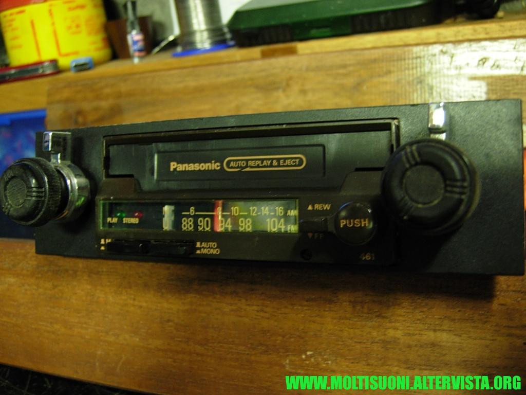 Panasonic CQ 461 - moltisuoni 2
