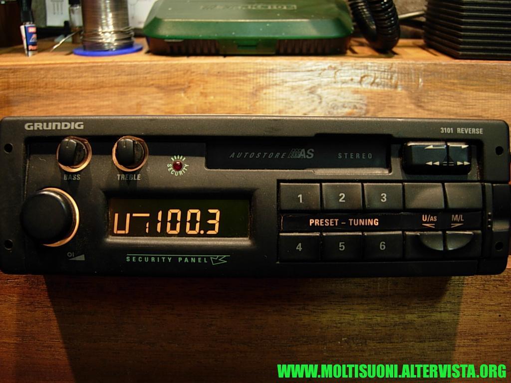 Grundig 3101 Reverse - Moltisuoni 3