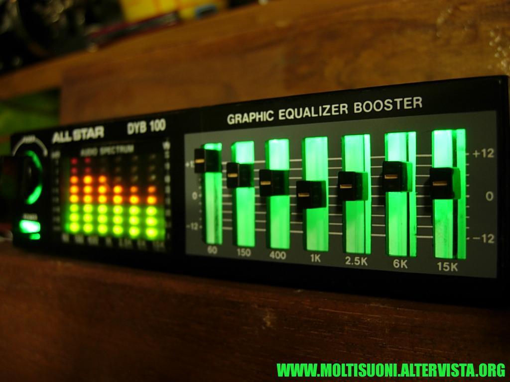 Equalizzatore booster All Star - Moltisuoni 3