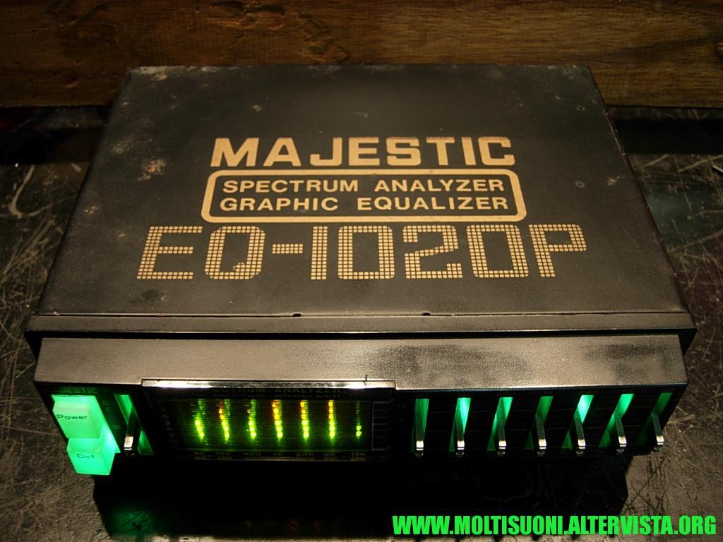 Majestic EQ1020P - moltisuoni5