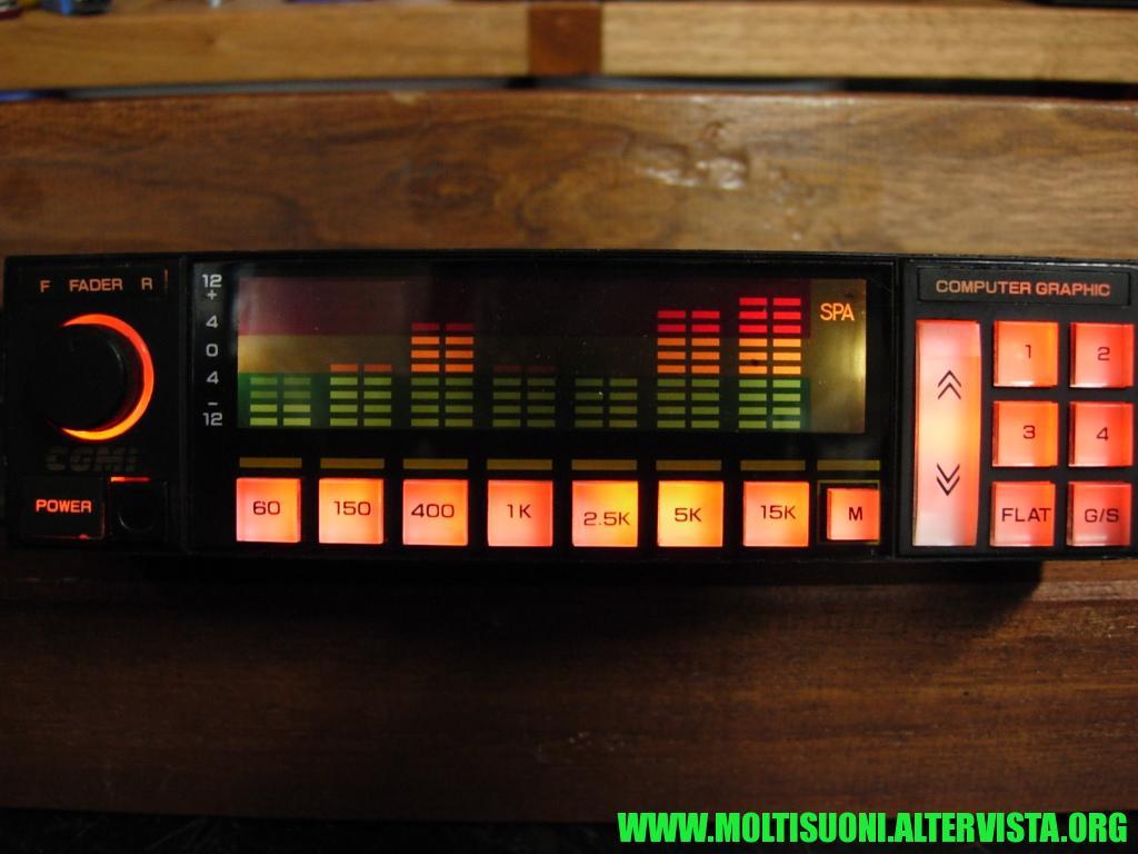 Amplificatore-equalizzatore CGMI ESA 800 - moltisuoni 2