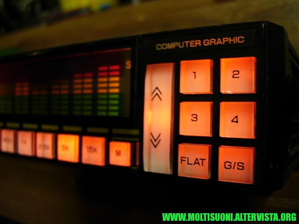 Amplificatore-equalizzatore CGMI ESA 800 - moltisuoni 3