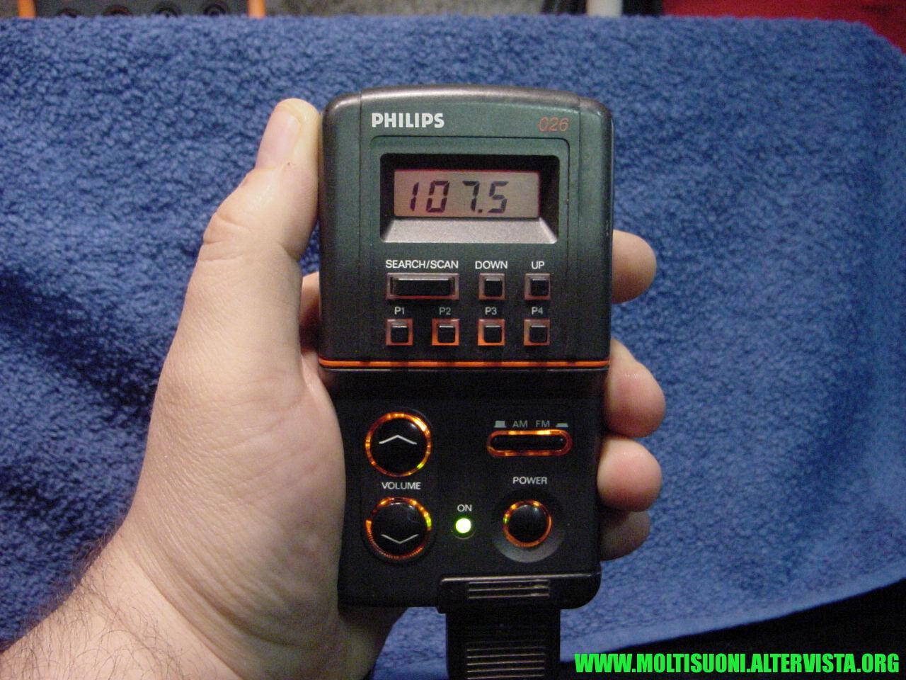 Philips split radio DC 026 - moltisuoni 1