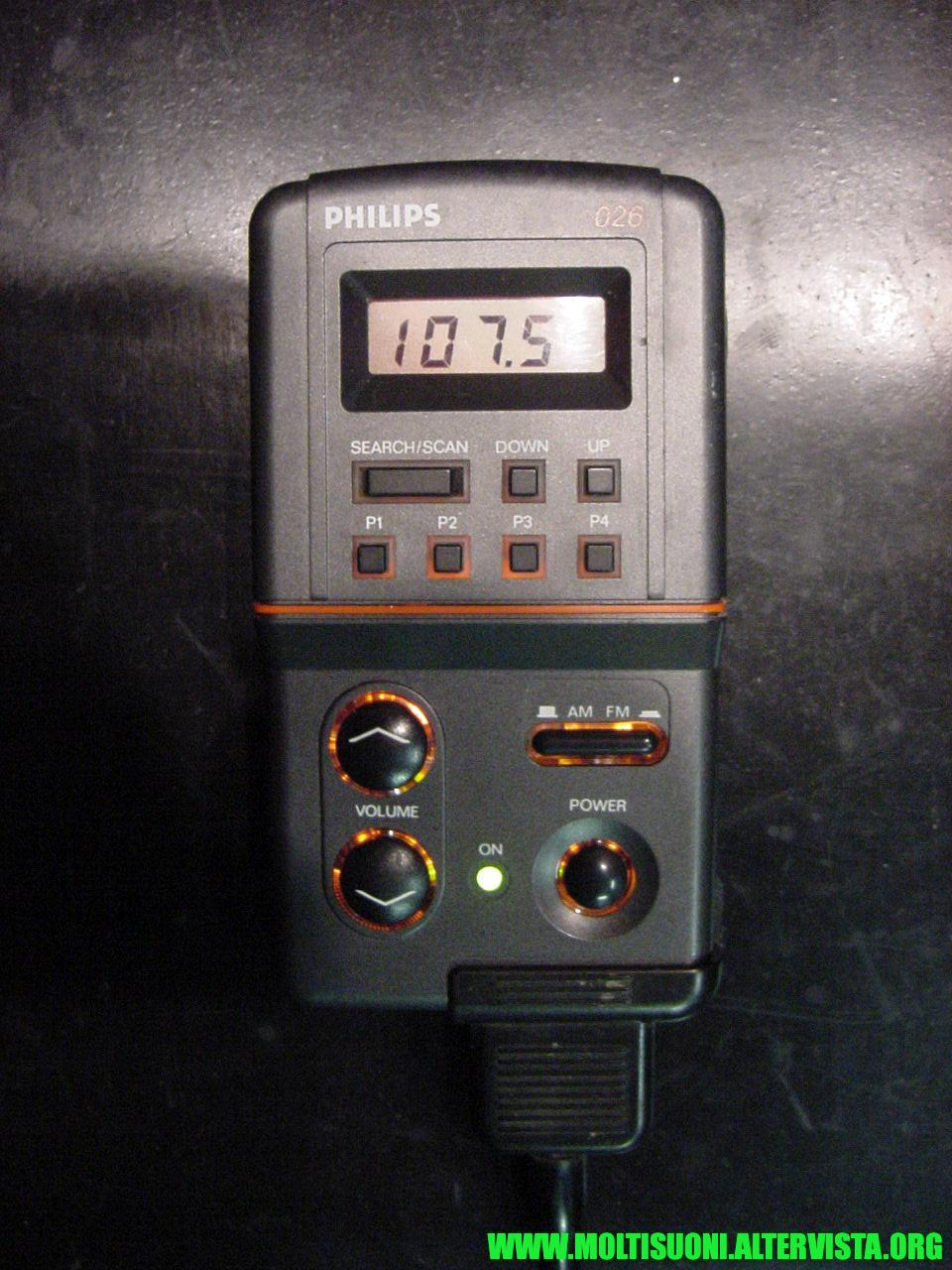 Philips split radio DC 026 - moltisuoni 3