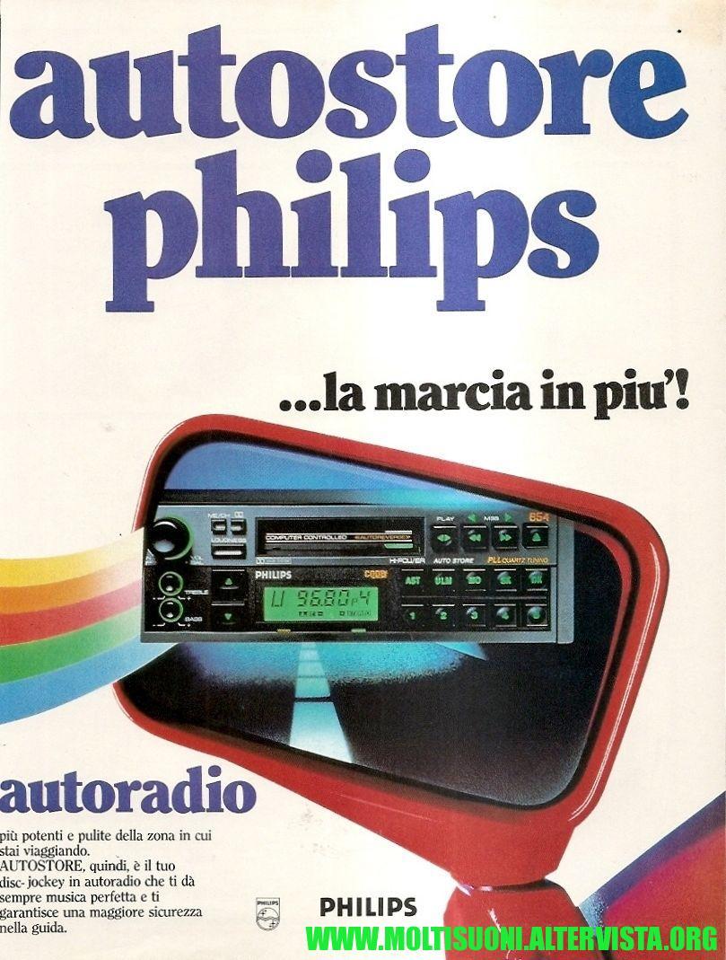 Philips autostore - moltisuoni