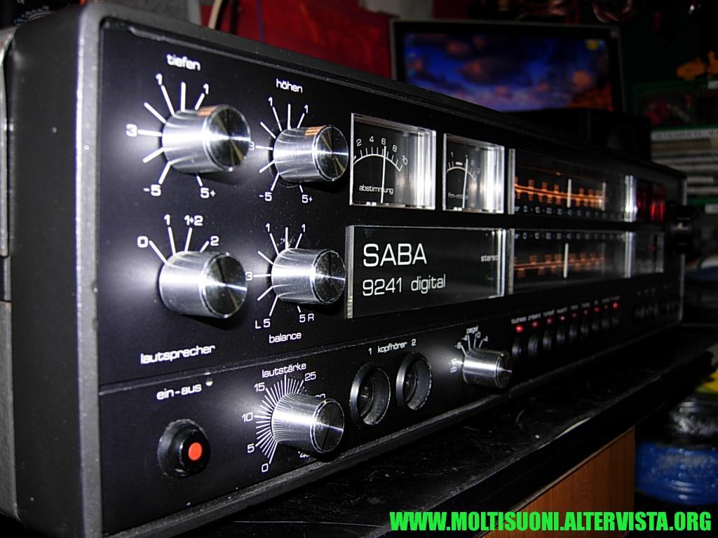 Saba Digital 9241 - moltisuoni 1